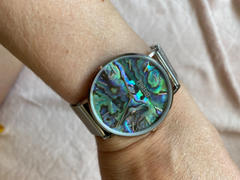 PURELEI Montre Abalone Silver Mesh Review