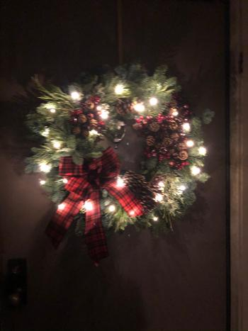Lynch Creek Wreaths  Gold Wreath Hanger Review