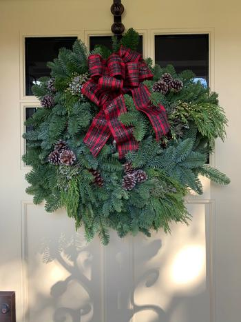Lynch Creek Wreaths  Plaid Bow Traditional Review