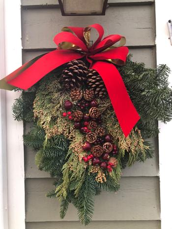 Lynch Creek Wreaths  Country Apple Swag Review