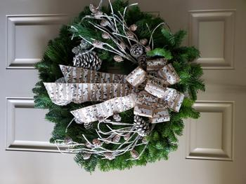 Lynch Creek Wreaths  Winter Birch Review