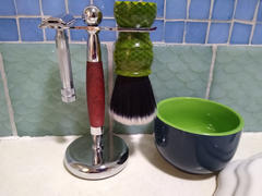 West Coast Shaving WCS Stand 314, 30mm, Rosewood Review