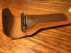 West Coast Shaving WCS Leather Safety Razor Case, Brown Review