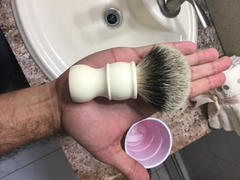 West Coast Shaving WCS Beacon Shaving Brush, Silvertip, Ivory Review