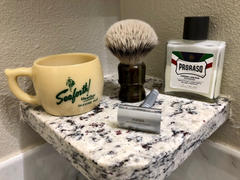 West Coast Shaving WCS Tortoiseshell Collection Torch Shaving Brush, Silvertip Review
