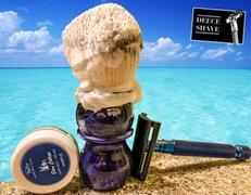 West Coast Shaving Yaqi Bluish Violet Synthetic Shaving Brushes Review