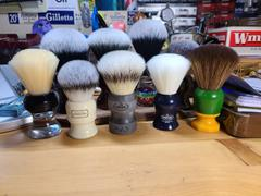 West Coast Shaving Omega EVO Synthetic Shaving Brush, Stone il Duca (E1857) Review