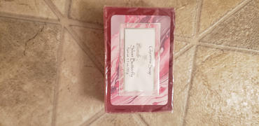 Camille Beckman Glycerine Soap Silver Butterfly 3.5oz Review