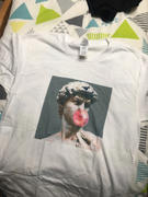 AESTHENTIALS STATUE BUBBLE GUM SHIRT Review