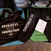 Just Strong PROGRESS NOT PERFECTION TANK Review