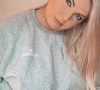 Just Strong Heather Grey Raglan Crew Neck Sweatshirt Review