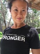 Just Strong BLACK STRIVE FOR STRONGER CROPPED TEE Review