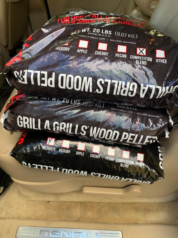 20 lbs Competition Blend Wood Pellets For Smoker, Grill ...
