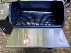 Grilla Grills Silverbac Front Shelf Review