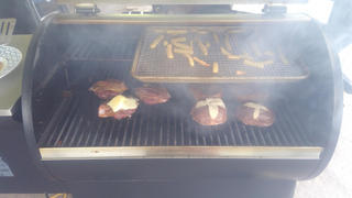 Grilla Grills Rack Extension- Silverbac Pellet Grill Review