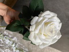 Afloral.com Real Touch Rose Stem in White - 14 Tall Review