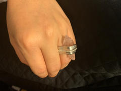 GERMAN KABIRSKI Rosa Pink Quartz and White Sapphire Ring Review