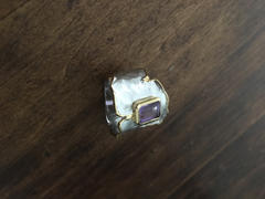 GERMAN KABIRSKI Cyra Amethyst Ring Review