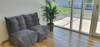 Ambient Lounge Norge Twin Couch Modulsofa Luscious Grey Review