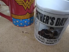 DC Shop Superman Happy Father's Day Personalized Mug Review