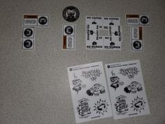 Rampage Coffee Co. Artistic Series Sticker Sheet | Gordie McGill Review