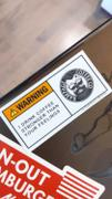 Rampage Coffee Co. Rampage Coffee Co. Feelings Warning Stickers (3 pack) Review