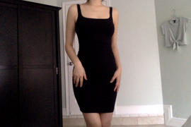 Los Angeles Apparel 83081GD - Garment Dye Cotton Spandex Tank Dress Review