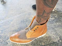 Southern Gents SG Rogue Sport Wingtip Boots – Cognac + Tweed Review