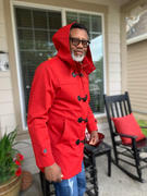 Southern Gents SG Toggle Raincoat - Red Review