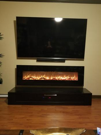US Fireplace Store Touchstone Onyx XL 72 Wall-Mounted Fireplace Review