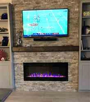 US Fireplace Store Touchstone Sideline Elite 60 Recessed Electric Fireplace Review