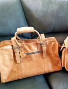 Bagspace DB92 | Duffel Bag (Premium Light Aniline Leather) Review