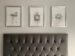 We Love Prints Fragrance Bottle Wall Art Print 'Blush' (Grey Edition) Review