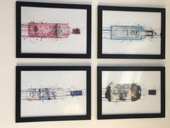 We Love Prints Vodka Bottle Wall Art Print 'Frost' Review