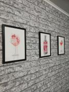 We Love Prints Pink Gin and Tonic 'Goblet' Wall Art Print Review