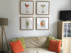 We Love Prints Champagne Coupe Cocktail Wall Art Print Review