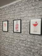 We Love Prints Clover Club Cocktail Wall Art Print Review