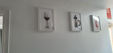 We Love Prints Red Wine Glass Wall Art Print Review