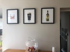 We Love Prints Pint Glass Wall Art Print 'Stout Pout' Review