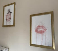 We Love Prints Fragrance Bottle Wall Art Print 'Miss Mauve' Review