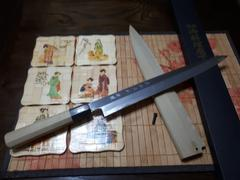 JapaneseChefsKnife.Com Fu-Rin-Ka-Zan Hon Kasumi Series Blue Steel No.2 Yanagiba (240mm to 300mm, 3 sizes) Review