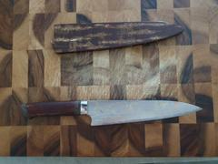JapaneseChefsKnife.Com Master Saji Rainbow Damascus Sakura Series Gyuto (210mm and 240mm, 2 Sizes) Review