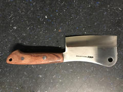 JapaneseChefsKnife.Com SHIKI Chopper SCP-1B 110mm (4.3inch, AUS-8 Blade, Bubinga Wood Handle) Review