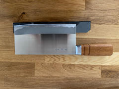 JapaneseChefsKnife.Com Sugimoto CM-4030 - Small Chinese Cleaver with Special Stainless Steel Blade Review