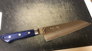 JapaneseChefsKnife.Com JCK Natures 青雲 Blue Clouds Series BC-2 Bunka (Kiritsuke) 190mm (7.4 inch) Review