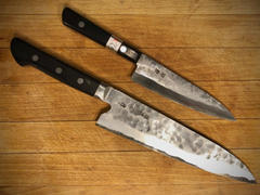 JapaneseChefsKnife.Com Fu-Rin-Ka-Zan White Steel No.1 Series Petty (135mm and 160mm, 2 Sizes) Review