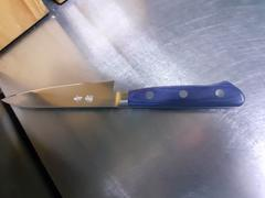 JapaneseChefsKnife.Com JCK Natures Blue Clouds AUS-8 Basic Series BCA-1 Petty 120mm (4.7 inch) Review