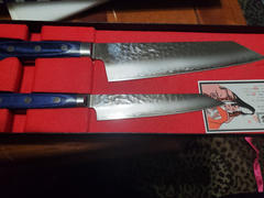 JapaneseChefsKnife.Com JCK Natures 青雲 Blue Clouds Series Kiritsuke Petty & Bunka (Kiritsuke) (2Pcs Knife Set) Review