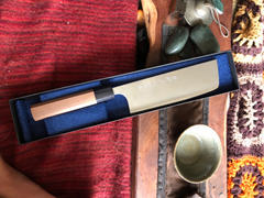 JapaneseChefsKnife.Com Fu-Rin-Ka-Zan Sea Clouds Aogami Super Series FASC-5 Nakiri 165mm (6.4 Inch) Review