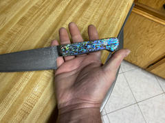 JapaneseChefsKnife.Com Mr. Itou R-2 Custom Damascus Gyuto 190mm (7.4 inch) Abalone Handle (IT-726) Review